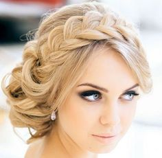 Love maid of honor hair