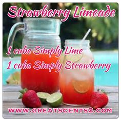 Strawberry Limeade Scentsy Recipe https://kennyrstephens.scentsy.us/