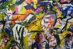 """Dorothy Krakovsky """"RECENT PAINTINGS"""" Solo Show. Soapbox Gallery, Brooklyn, NY. February 15- March 16, 2014."""