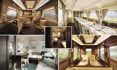 The £2.5million Grand Hibernian is the latest sleeper train to join the Belmond group, which includes well-known services like the…