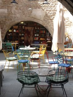 Espai Mescladis, Barcelona • See post on my blog. Barcelona Travel, Book Club Books, About Me Blog, Pretty, Sevilla Spain