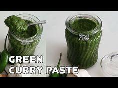 How to make Multipurpose Goan Green Curry Paste Homemade Curry, Goan Recipes, Paste Recipe, Green Curry, Masala Recipe, Curry Paste, Cooking Videos, Coriander, Turmeric