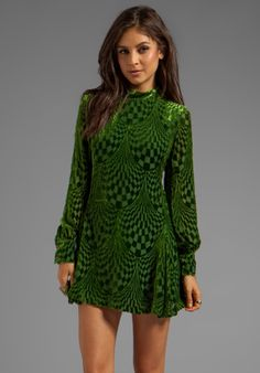 Another of my favorite Anna Sui dresses. Love the sleeves on this one!