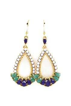 Kimmie Earrings in Lavenders