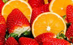 Juicy Oranges and Strawberries