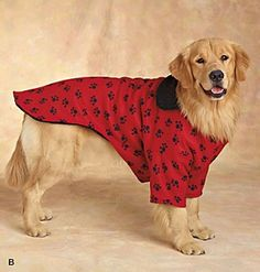Big dog clothing is hard to find, these patterns are the perfect solution.