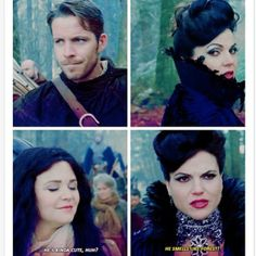 Oh my goodness, after Rumbelle OutlawQueen is officially my next favorite ship! XD