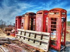 Phone Booths. Ontario, Canada.By Яick Harris