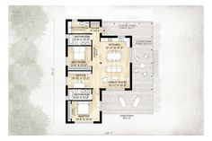 Unisex changing room with toilet and shower suitable for House plans for disabled people