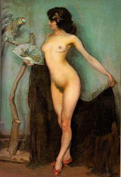 Gitano del Loro by Ignacio Zuloaga, 1906 via Get Thee to a Nunnery John William Godward, Spanish Painters, Spanish Artists, Illustrations, Illustration Art, Art Pictures, Photos, Female Body Art, Human Figure Drawing