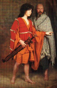 "Mogh Roith on Making History: Making a Century Leine & ""Kerns"" Jacket Irish Clothing, Celtic Clothing, Medieval Clothing, Historical Clothing, Historical Dress, Renaissance Garb, Irish Warrior, Celtic Warriors, Medieval World"