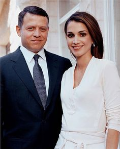 Happy 22nd Wedding Anniversary to King Adbullah II and Queen Rania of Jordan – GeorgiaPapadon