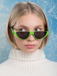 fde1078a981 Mykita x Martine Rose Kitt Lime Sunglasses  589 Designer Shades