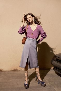 【SPUR】SEE BY CHLOÉ(LOOK) - 2017年春夏ルックブック|COLLECTION(コレクション)