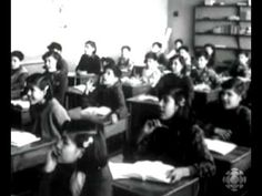 Canadian Residential School Propaganda Video 1955 - And that orchestral score . Who mentions it first ? Native Canadian, Canadian History, Native American, Indian Residential Schools, Indigenous Education, Aboriginal History, Inquiry Based Learning, Film School, Vintage School