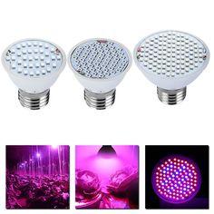 Rosną Światła E27 AC85-265V Pełne Spektrum Roślin Lampa Led Rosną Światła Dla Roślin Vegs Oświetlenie Roślin