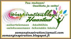 Lifestyle-blogi, askartelua, kauneutta, pohdintaa, arjen voimavaroja, Xl nainen, äiti ja vaimo, kissat, keski-ikäinen bloggaa.
