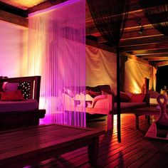 Dim lighting and chillout vibes Sa Punta Ibiza