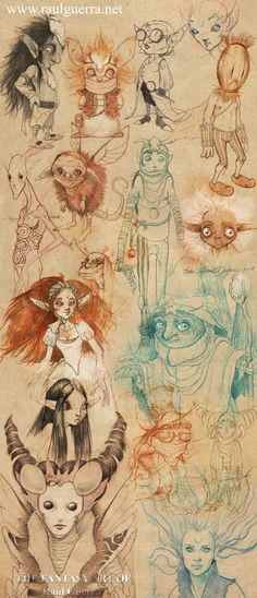 Magic Creatures V by chicourano.deviantart.com