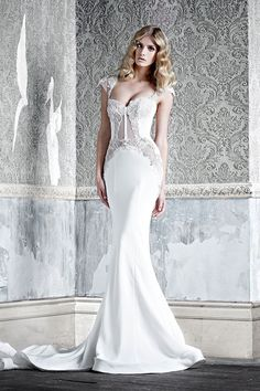 http://www.modwedding.com/2014/10/27/pallas-couture-wedding-dresses-with-exceptional-design-details/ #wedding #weddings #wedding_dress