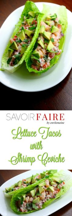 This lettuce tacos with shrimp ceviche recipe is a must that will allow you to have lunch, dinner or a delicious tapa in less than 20 minutes. Click for the step by step directions, #Ad #MiCocinaViveMejor