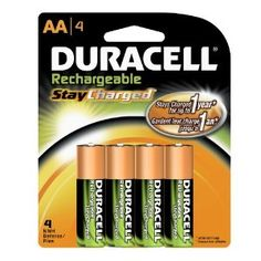 "***BEST DEAL OF THE DAY*** Amazon has 4-pack Duracell StayCharged Rechargeable AA or AAA Batteries for $7.49 or $7.67 (after checking out via subscribe & save to save an additional 5% + receive free shipping) respectively when you ""clip"" the $1.50 off coupon on product page"