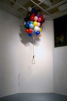 Balloon Hanging