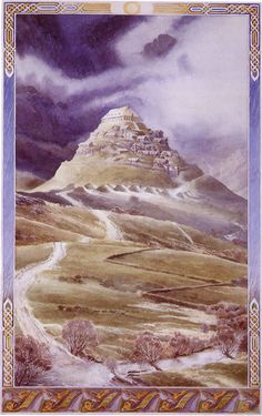 The Lord of the Rings - Alan Lee Art - Edoras