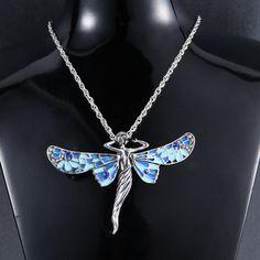 Supernatural collier Castiel Trenchcoat Angel Wings Pendentif Style Bijoux