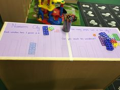 Numicon city part two! Maths ideas in early years. Adult led or independent, cornerstones curriculum, eyfs, foundation stage, reception classroom, display, topic, adding, subtracting, counting, number, odd and even