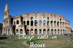Top eight cheap eats in Rome: Gourmet Chick in Italy