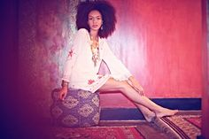 (the Cuff)    In Honor of MLK day, the Bohemian clothing company Free People did an editioral photoshoot that knocked me right off my Boh...