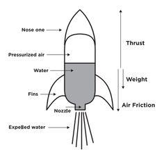 Soda bottle water rocket water rocket bottled water and soda pop bottle rocket fins google search pronofoot35fo Choice Image