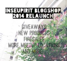 Are you excited for Inseupirit Blogshop's ?   ✨HUGE GIVEAWAYS ✨New products ✨Insane sales ✨Discount codes ✨More flexible meetup locations and more...  Keep a watch on our page for more updates coming your way! #clementcanopyprice, #clementcanopycondo, #clenmentcanopylocation, #Clementcanopyshowflat