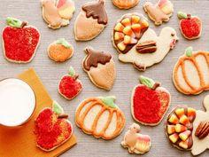 Easiest Thanksgiving Sugar Cookies