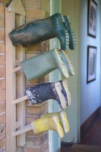 Boot Room & Storage - for the garage Boot Room Storage, Garage Storage, Utility Room Storage, Utility Room Ideas, Outdoor Shoe Storage, Garage Shoe Storage, Boot Room Utility, Porch Storage, Casas Country