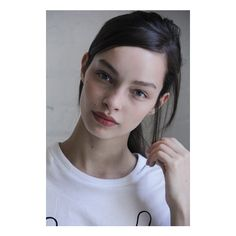 Luma Grothe natural makeup look Luma Grothe, Natural Makeup Looks, Pure Beauty, Supermodels, Hoop Earrings, Pure Products, Polyvore, Raw Beauty, Circle Earrings