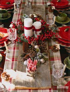Christmas Table, Table, Table decor, mesa de natal, decoração de mesa de natal, decoração natalina