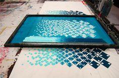 Fison-Zair: Work In Progress: Screen Printed Length