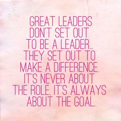 Always… #Leadership inspiration from #OLNinc