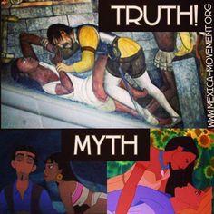 The Truth vs  Myth Sometimes no words are required. ********** La Verdad vs Mito A veces no se necesitan palabras.   <3 lis