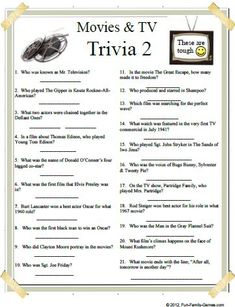 29 Best Trivia questions and answers images in 2019 | Dating