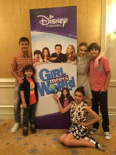 #GirlMeetsWorld premieres in a little over 24 hours! Tomorrow is the day! Can you believe it? Even though I've seen it already I am so excited to see it again on TV! One more day guys!