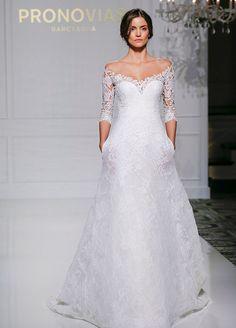 Pronovias 2016 Bridal Collection Wedding Dresses, Wedding Gowns, Fashion Week, Bridal Market, Fall 2016 || Colin Cowie Weddings