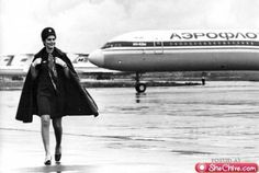 Vintage Stewardess Pictures - Flight Attendant Photos From The Past When The Airlines Only Hired The Hot Sexy Stewardess. Films Récents, Aeroflot Airlines, National Airlines, Airplane Pilot, Aircraft Photos, Blu Ray, Air France, Cabin Crew, Flight Attendant