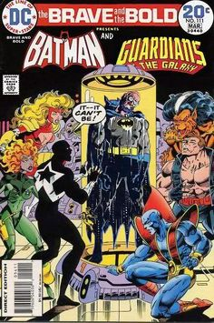 Batman and Guardians of the Galaxy
