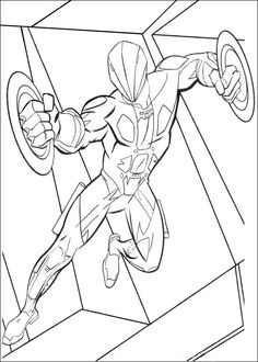 Desenhos para colorir Tron 20
