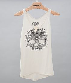 Affliction Dead Head Notch Tank Top at Buckle.com