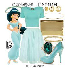 Jasmine by leslieakay on Polyvore featuring mode, Pilot, Coast, ALDO, Kate Spade, BERRICLE, Jennifer Fisher, Deepa Gurnani, disney and disneybound