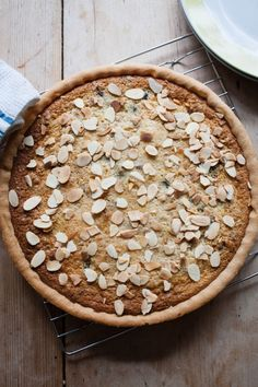 California Prune and Walnut Tart recipe by California Prune Board, Rosemary Shrager. . Serves 8. Find more great #Tarts #recipes at Kitchen Goddess.